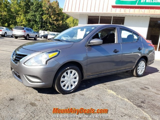 Pre-Owned 2018 Nissan Versa S Plus