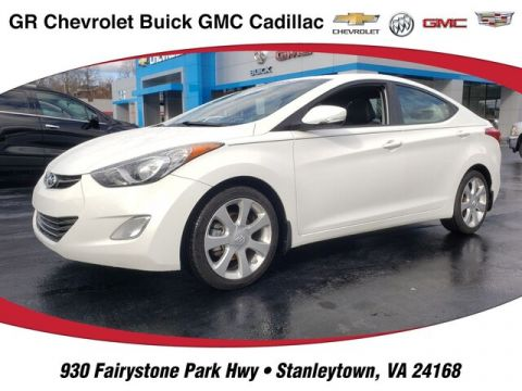 Pre-Owned 2013 Hyundai Elantra Limited w/PZEV