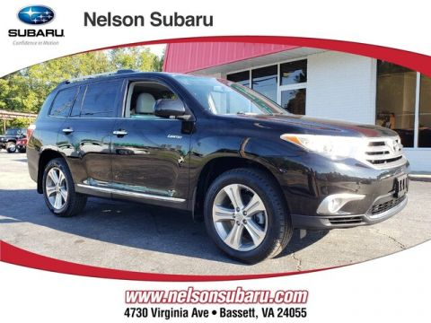 Pre-Owned 2011 Toyota Highlander Limited V6